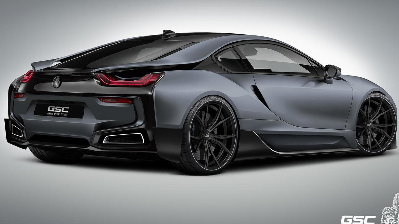 BMW i8 iTRON by German Special Customs
