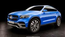 Mercedes-Benz GLC Coupe production version render