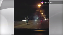 Toronto road rage biker video posted showing pre-crash events