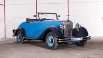 Lot 58 - 1934 Delage D6-11 Roadster recarrossée