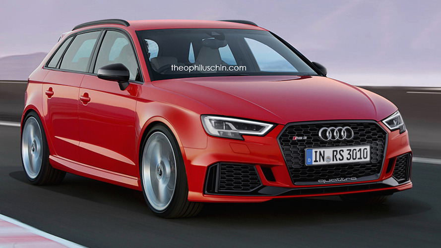 Audi RS3 Sportback will look like this