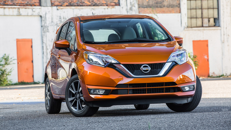 Note the changes to Nissan's Versa hatch for 2017