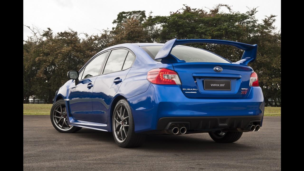 Subaru lança novos Impreza WRX e STI a partir de R$ 147.900