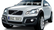 Next generation Volvo XC90 rendering