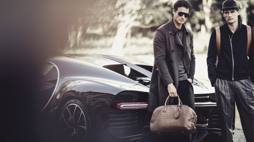 Bugatti, Giorgio Armani collaborate on line of bags and clothing