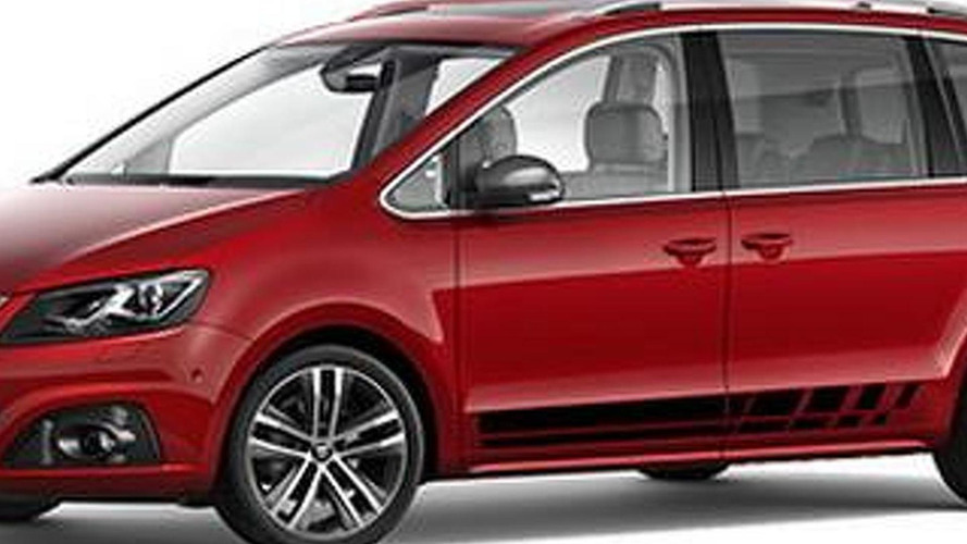 SEAT Alhambra FR Line announced with sporty accents