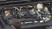 2018 Jeep Wrangler Hurricane four-cylinder engine spied