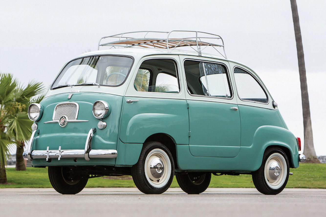 The Fiat 600 Multipla Was the True Definition of a Minivan: Weird Car of the Week