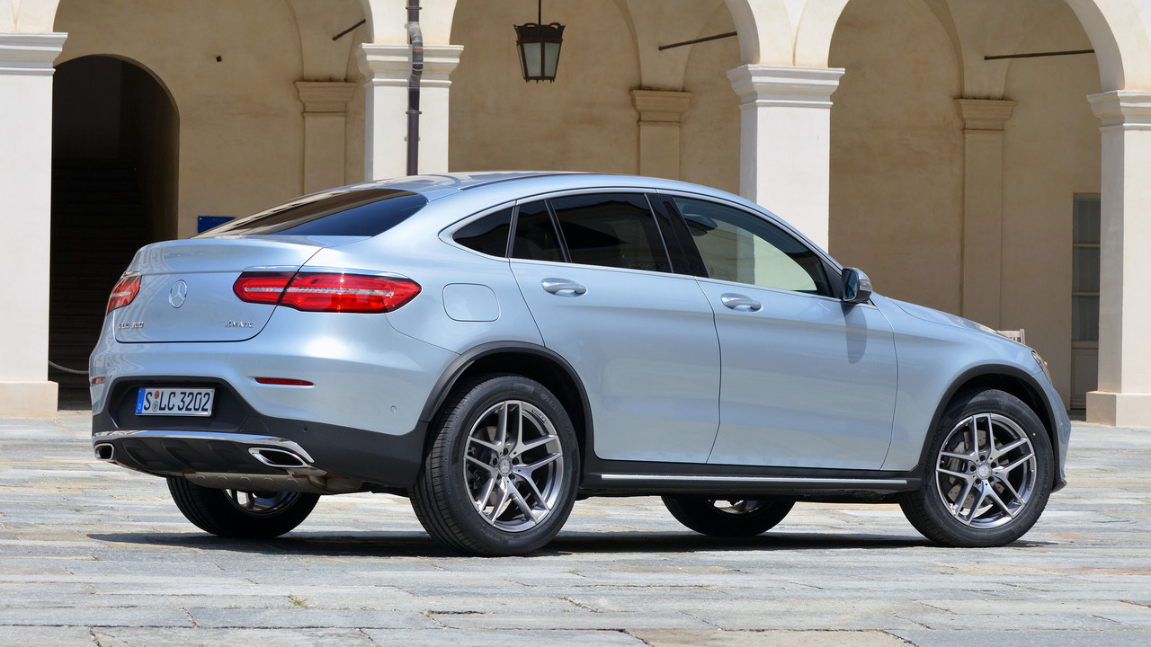 2017 Mercedes-Benz GLC Coupe: First Drive | Motor1.com Photos