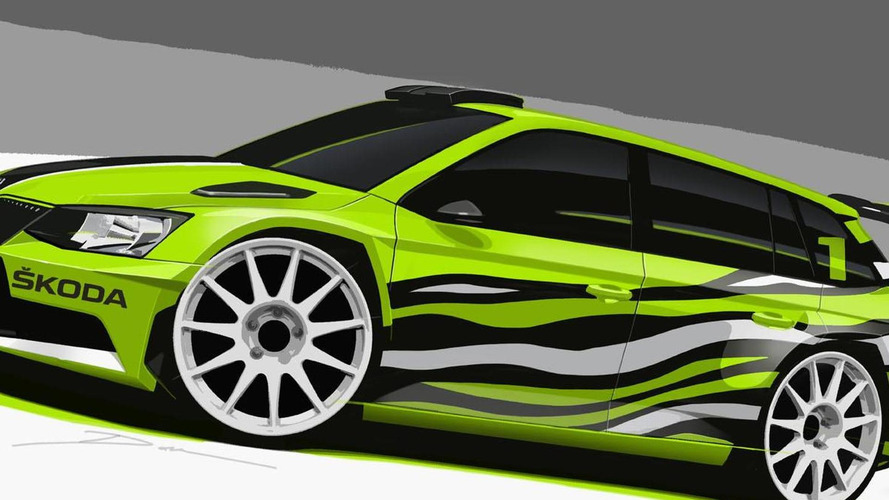 Skoda Fabia Combi R5 concept teased for Wörthersee