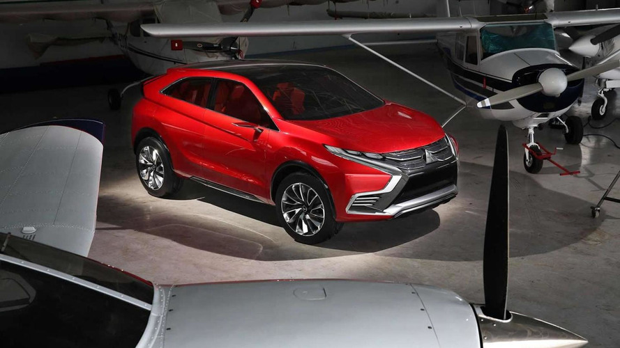 Mitsubishi Concept XR-PHEV II previewed prior to Geneva reveal