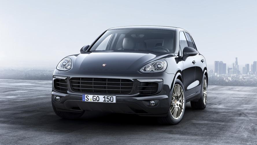 Porsche Cayenne Platinum Edition unveiled