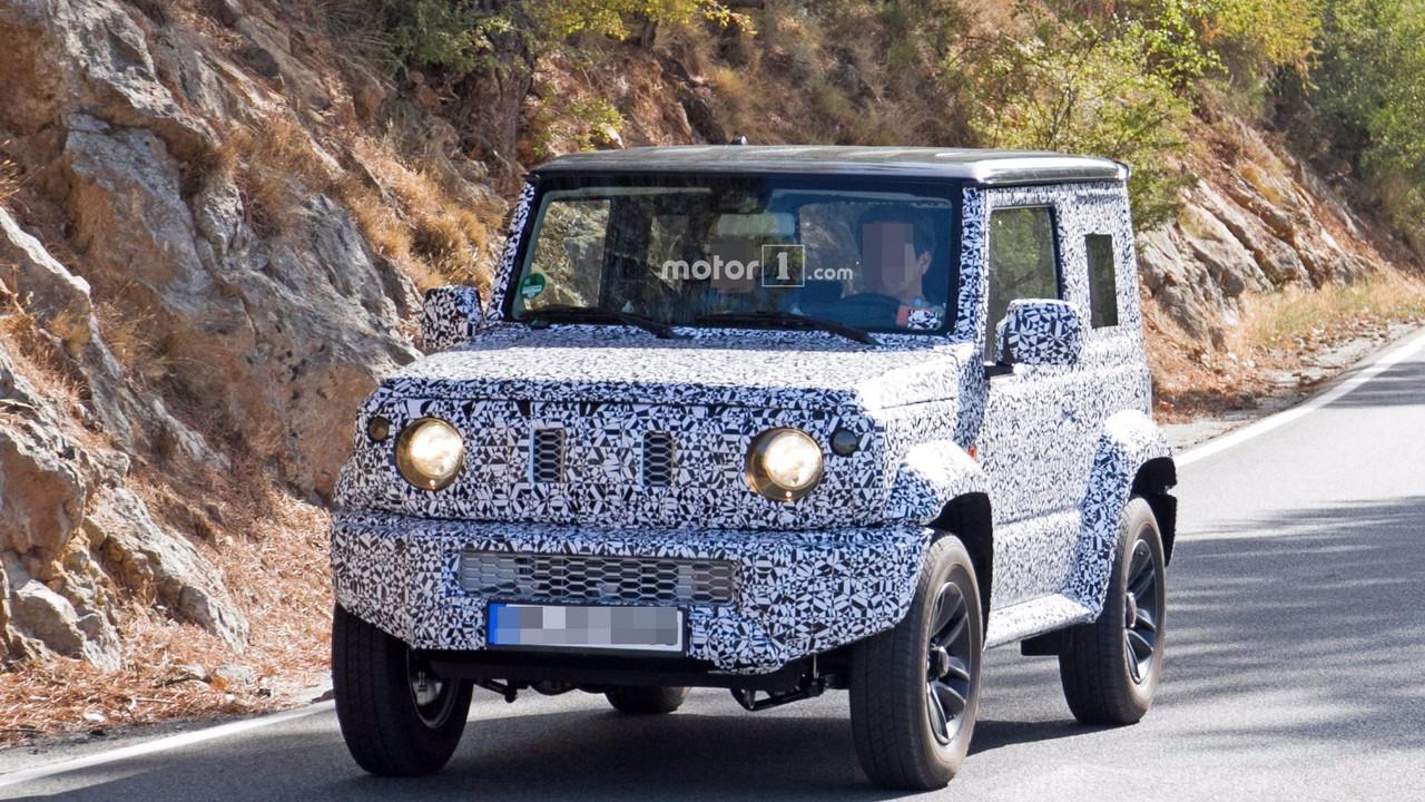 2018 Suzuki Jimny spy photo