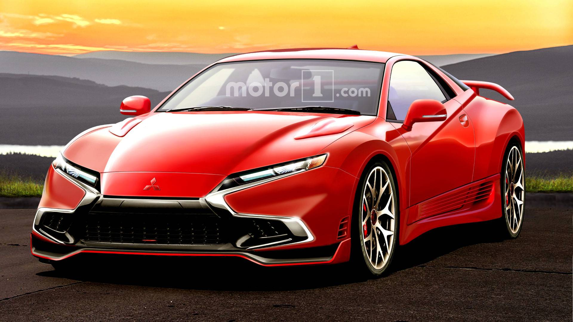 mitsubishi 3000gt rendered as if it were alive today. Black Bedroom Furniture Sets. Home Design Ideas