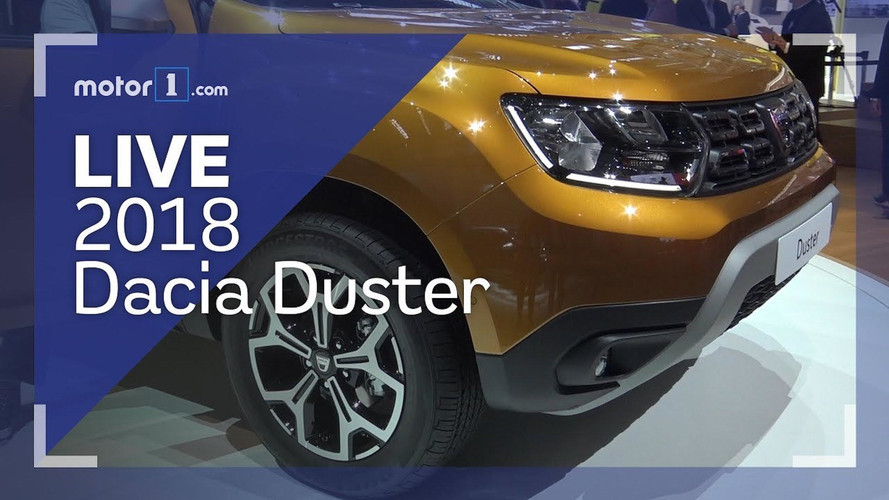 2018 Dacia Duster Live Look