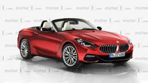 2018 BMW Z4 render