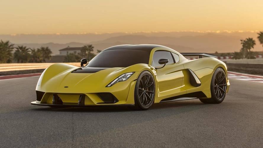 Hennessey Venom F5'in Avrupa tanıtımı Cenevre'de yapılacak