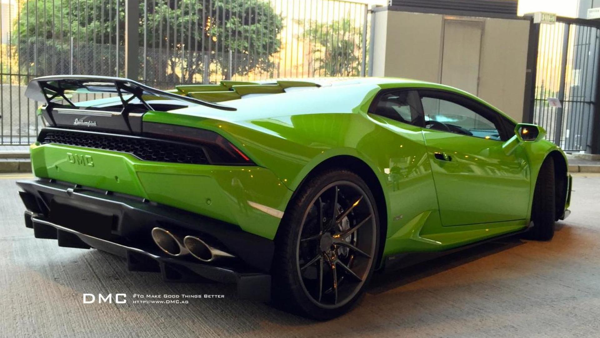 Суперкар Lamborghini Huracan Affari. Тюнинг от DMC