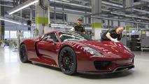 Son Porsche 918 Spyder
