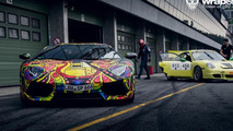 Lamborghini Aventador wrapped by WrapStyle / Martin Cyprian Photography