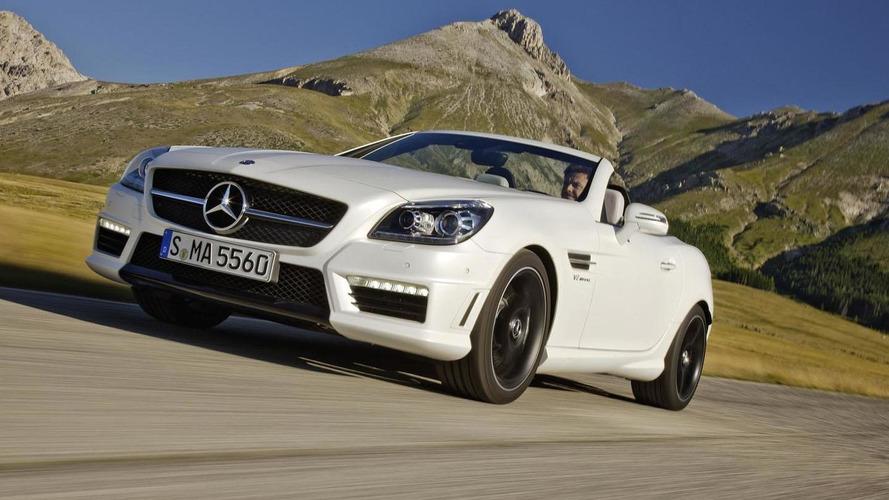 2012 Mercedes SLK 55 AMG pricing announced (UK)