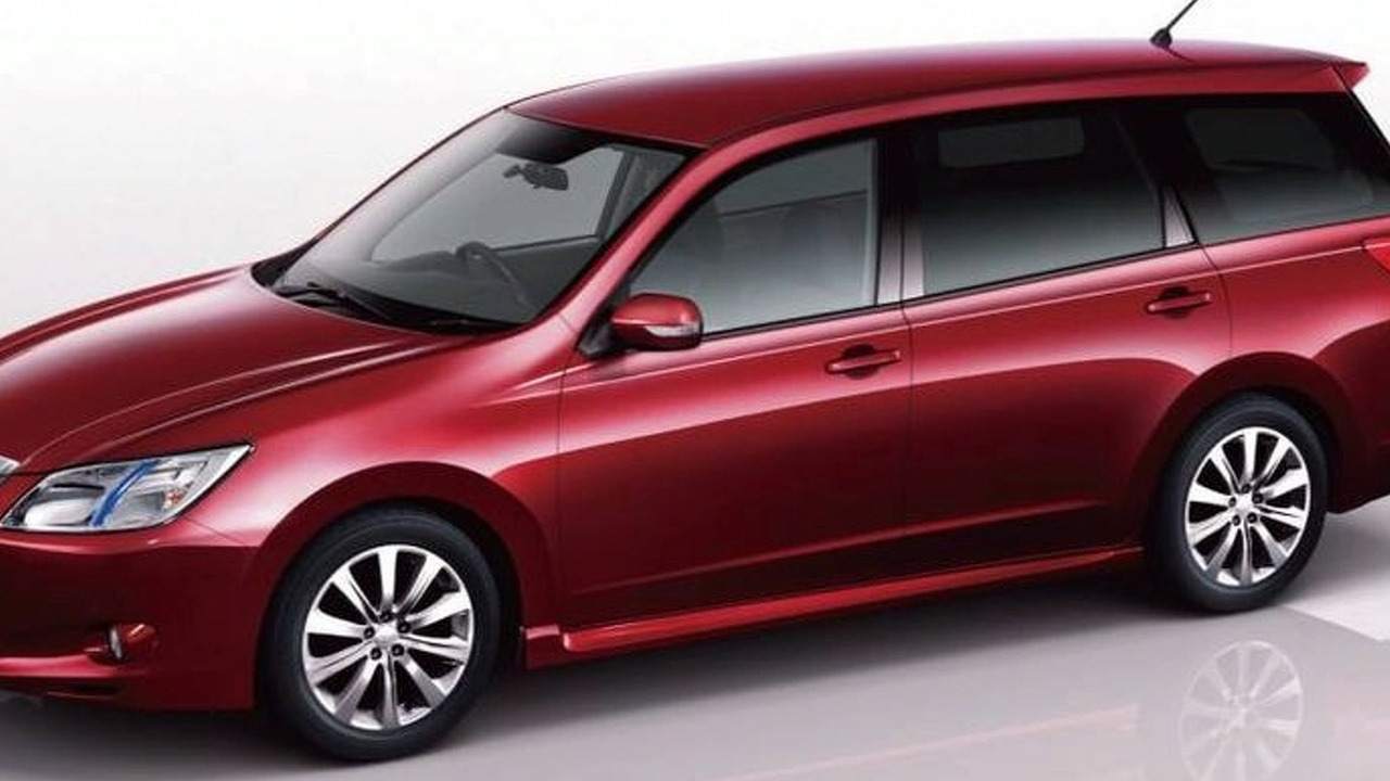 Subaru tribeca replacement confirmed due several years from now 2010 subaru exiga jdm version vanachro Images
