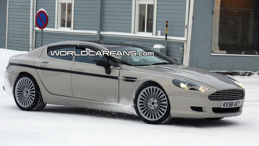 Beautiful Aston Martin Rapide Prototype Continues to Tease