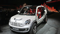 MINI Beachcomber Concept live in Detroit, NAIAS 12.01.2010
