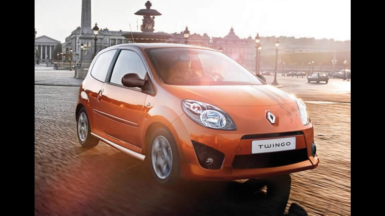 Novos Renault Twingo e Smart ForTwo, só em 2014!