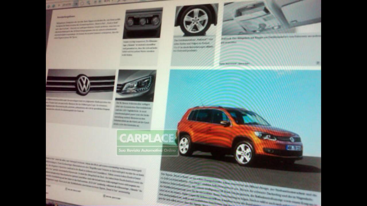Novo VW Tiguan 2011?