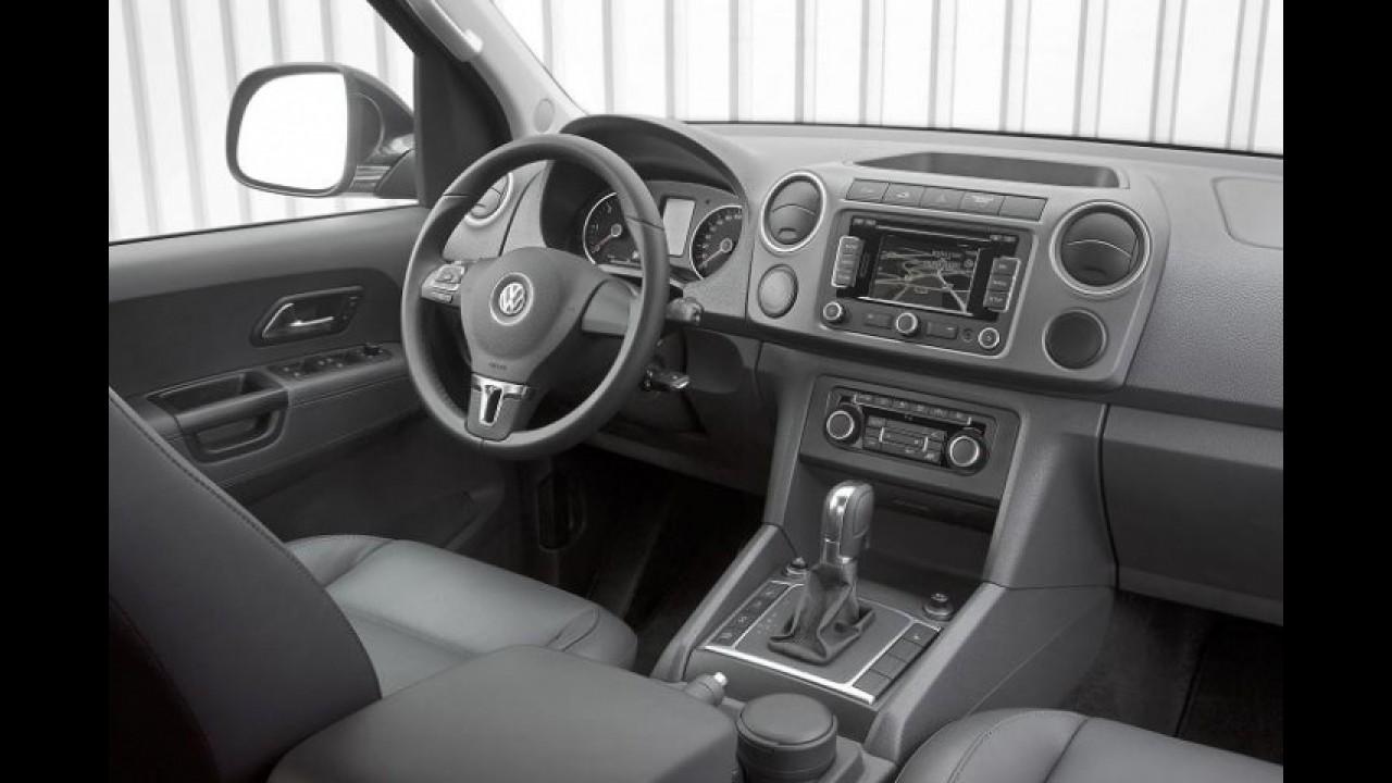Volkswagen já oferece Amarok equipada com transmissão automática na Europa
