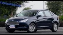 Novo Ford Escort chega ao mercado chinês por R$ 37 mil