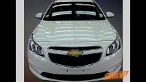 Chevrolet Cruze reestilizado é flagrado novamente na China