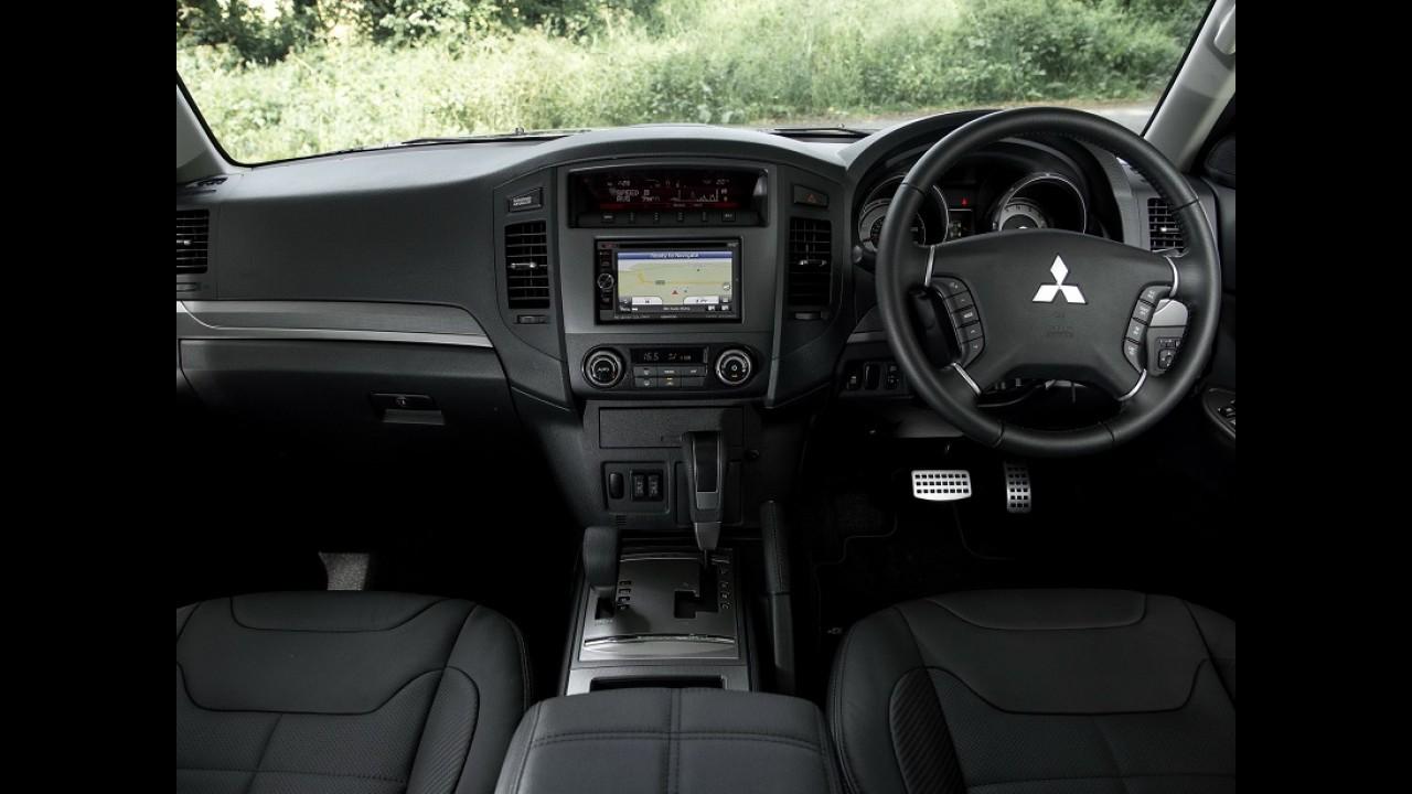 Mitsubishi Pajero Full ganha edição especial Barbarian no Reino Unido
