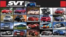 Ford comemora os 20 anos da divisão veículos esportivos SVT