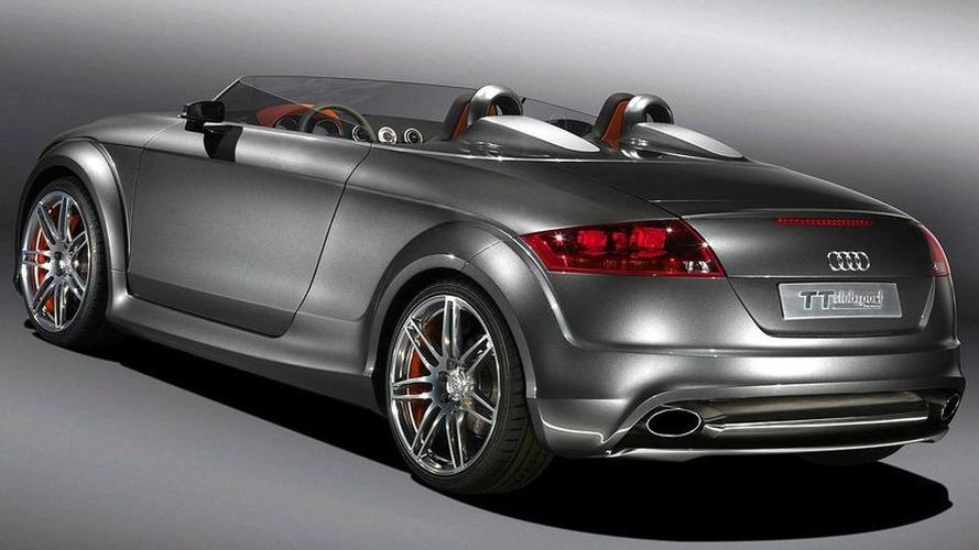 Audi TT Clubsport quattro Pops up in Austria