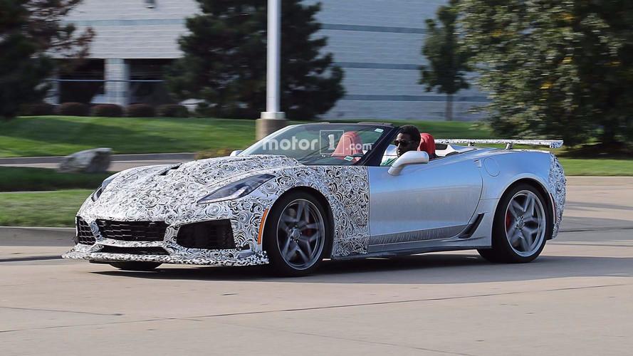 Chevrolet Corvette ZR1 kafilesi casuslara yakalandı