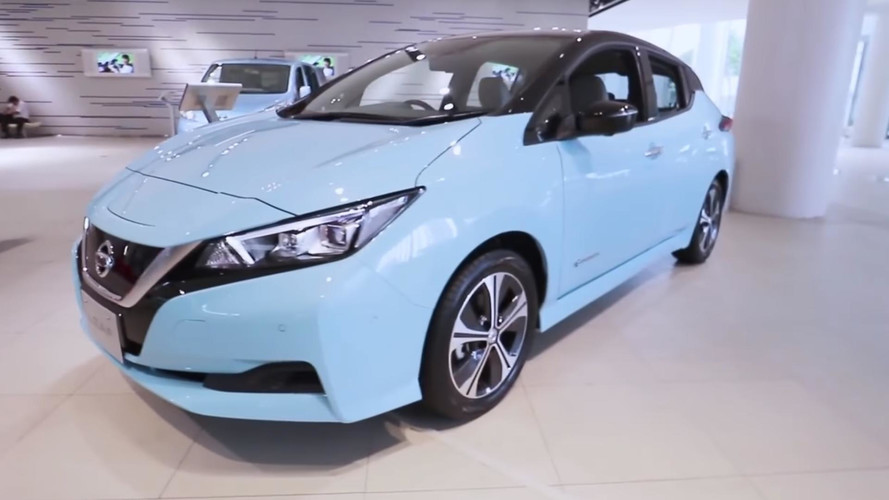 2018 Nissan Leaf Walkaround Provide Us With Clearest View Yet