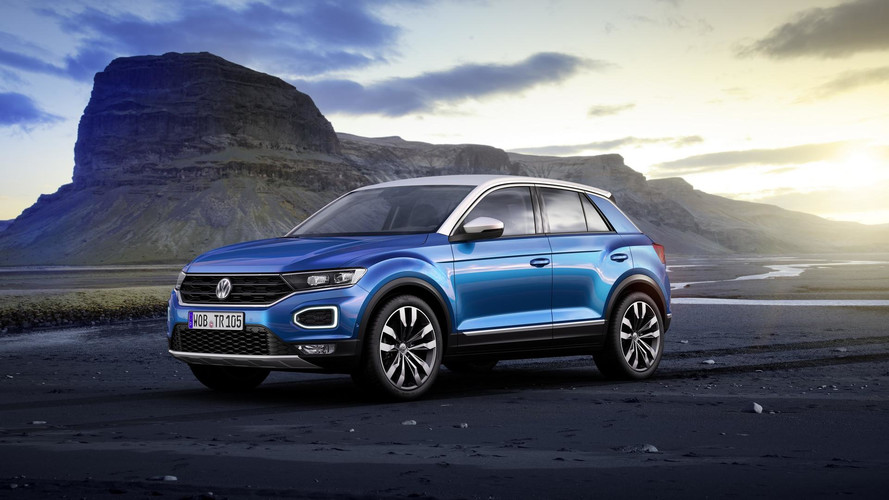 Volkswagen Reveals New T-Roc SUV