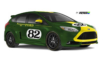 Green Filter USA Ford Focus ST for SEMA 21.10.2013