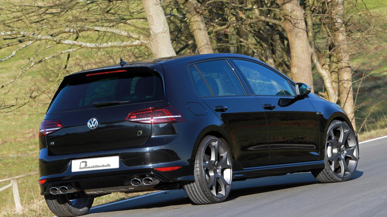 b b squeezes 420 hp from volkswagen golf vii r. Black Bedroom Furniture Sets. Home Design Ideas