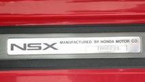 Ayrton Senna's red Honda NSX