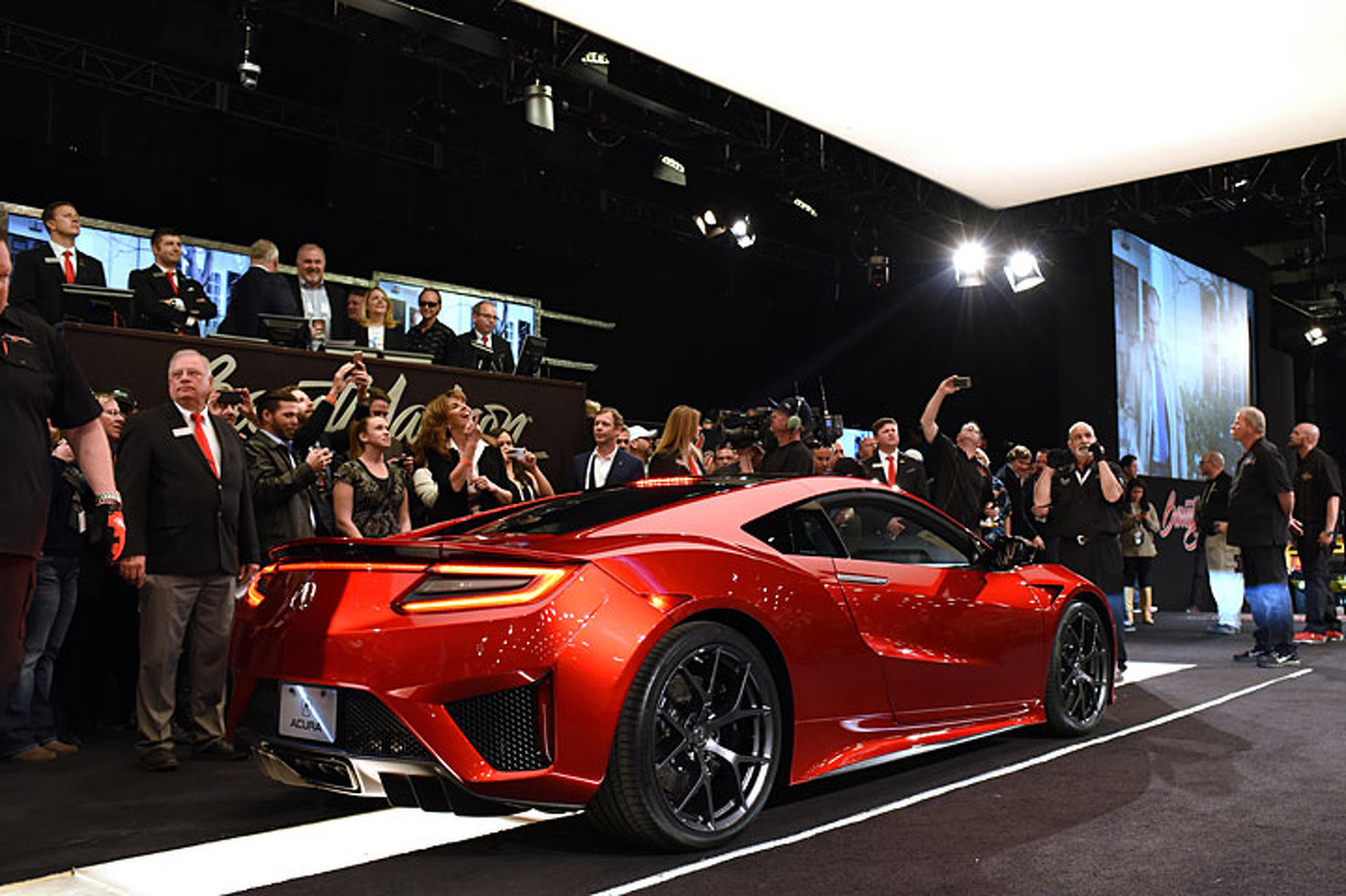 Acura NSX #001 Auctions for $1.2 Million