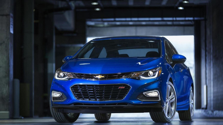 2016 Chevrolet Cruze introduced with sleeker design and  250 lbs weight loss [videos]