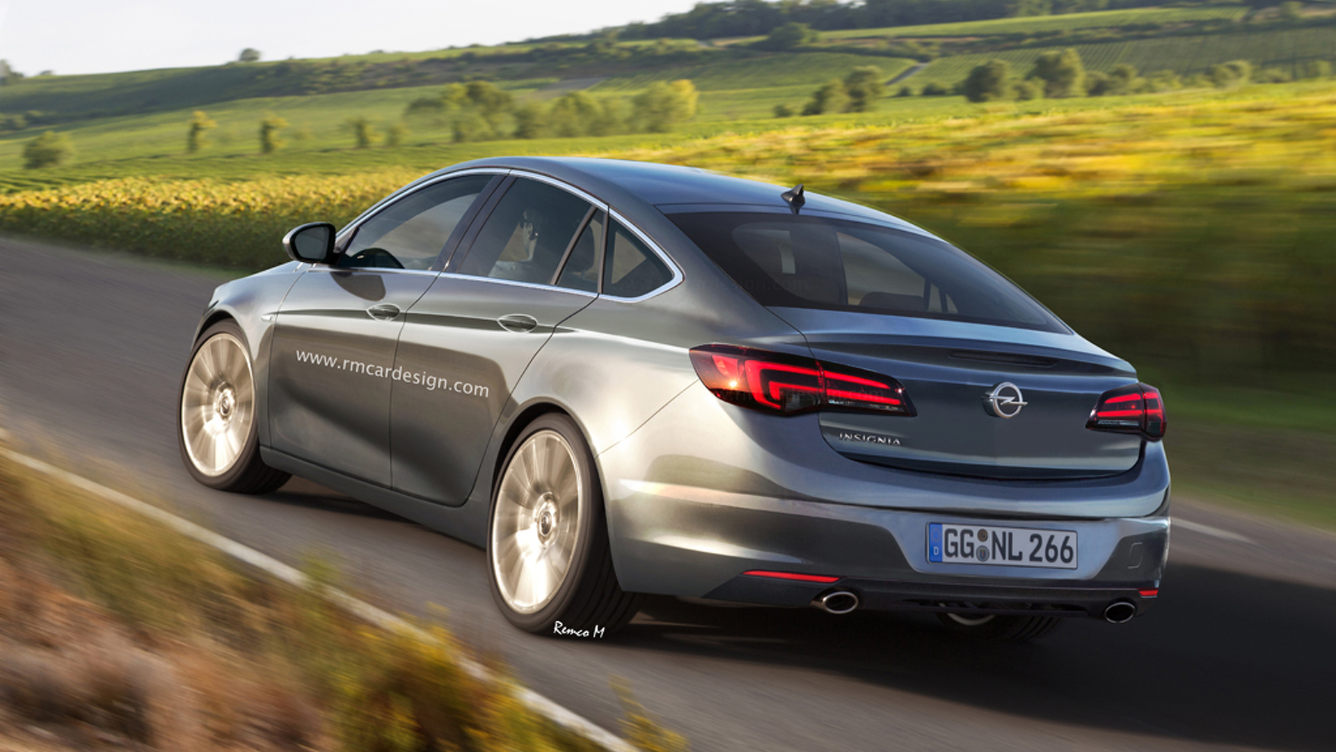 Lets hope 2017 Opel Insignia will look like this