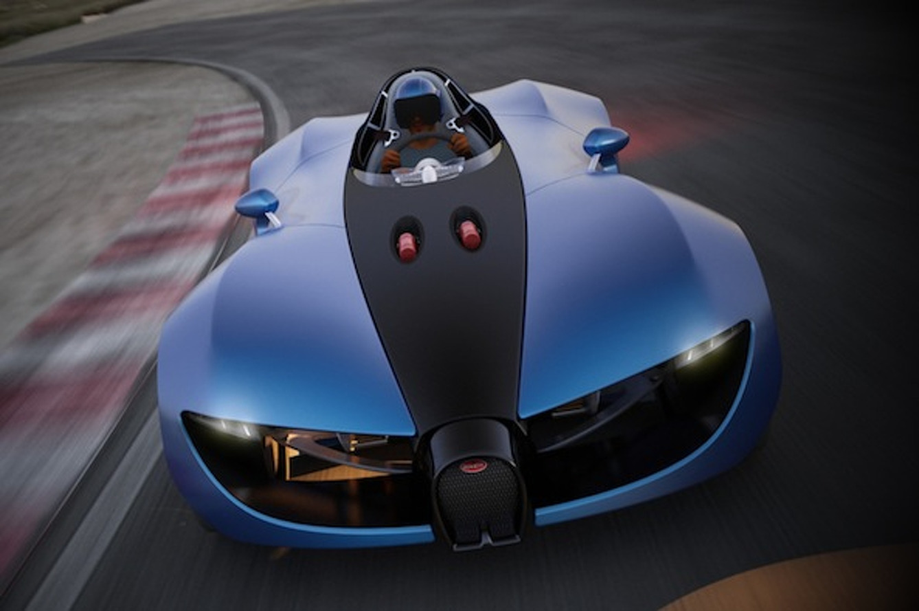 Bugatti TypeZero: The Single-Seat Racer of Enthusiasts' Dreams