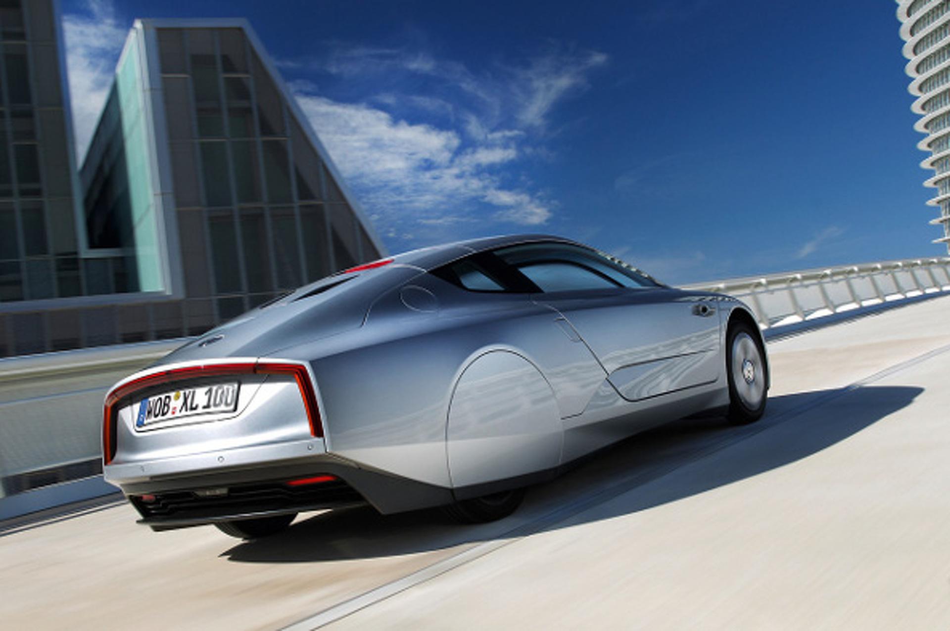 Volkswagen XL1 is the Future of Fuel-Efficient Driving
