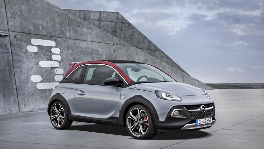 Opel Adam Rocks S debuts with 150 HP