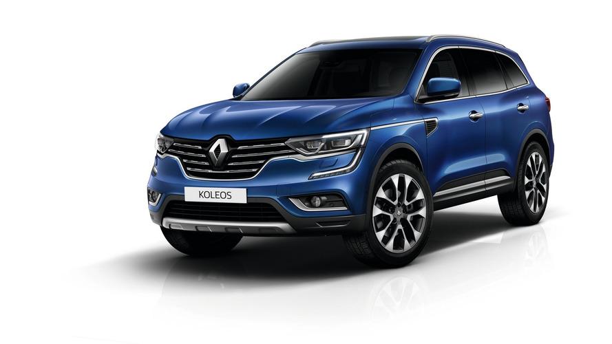 2016 Renault Koleos lands in China as brand's flagship model
