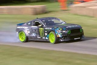 Watch Vaughn Gittin's Ford Mustang RTR Get Very Sideways at Goodwood